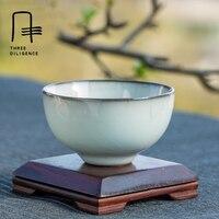 Цзиндэчжэнь guan печи керамическая чашка кунг фу чайный сервиз Селадон Винтаж ручной работы мастеров чашка керамическая чашка Китай чашки са