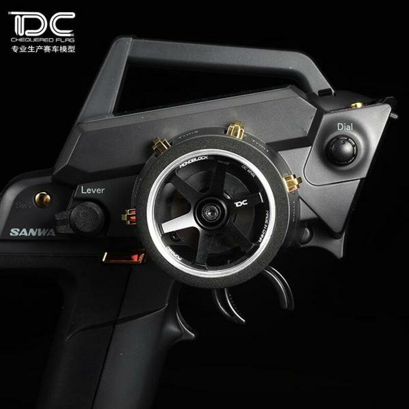 1PCS DC RC 1:10 Remote Control Steering wheel For SANWA MT4S/MT4/M12/MT44/M12S DC-90196