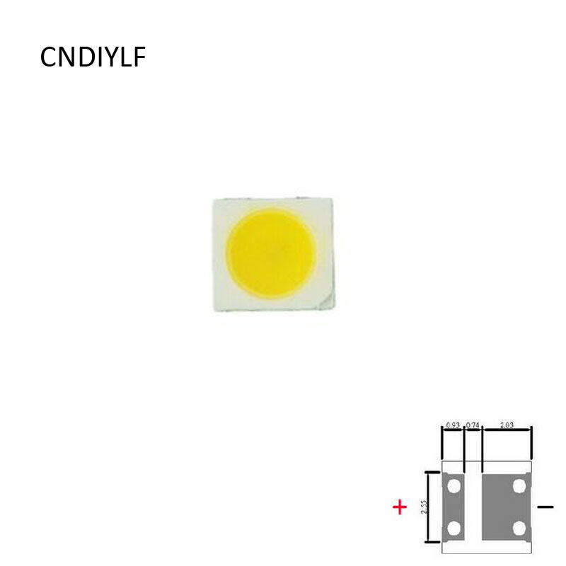 100Pcs For LED LCD Backlight TV Application High Power LED LCD TV Backlight LED Backlight <font><b>1W</b></font> <font><b>3V</b></font> <font><b>3535</b></font> Cool white Via Air Mail image