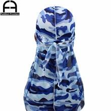 Camo Silk Durag Wholesale 8 colors total 80pcs