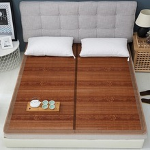 Vescovo Cool summer senior mattress Double sided folding wrapping1.3/1.5/1.8/2.0m 100% Pure natural bamboo mat