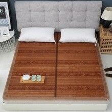 Vescovo Serin yaz kıdemli yatak Çift taraflı katlanır wrapping1.3/1.5/1.8/2.0 m % 100% Saf doğal bambu mat