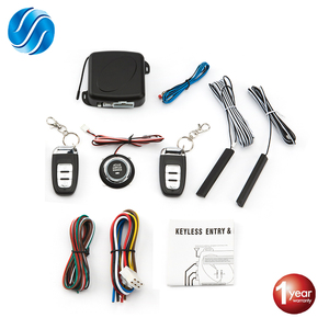 Автосигнализация с дистанционным управлением, автозапуск без ключа, система запуска двигателя, кнопка дистанционного стартера
