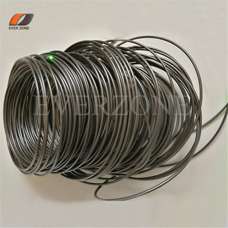 Swimming Pool Optic Fiber Lighting 4 0mm PMMA Plastic Optic Fiber End Light Cable 50m