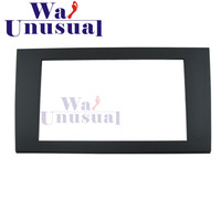AU 006 Top Quality Radio Fascia for Audi A4 2006 Stereo Fascia Dash CD Trim Installation Kit Free Shipping