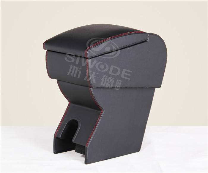 free punch Special car armrest box for great Wall M4 wooden leather multifunction central box free punch wooden pu leather special car armrest box with 4 usb hole for peugeot301 citroen elysee smultifunctional car hand box