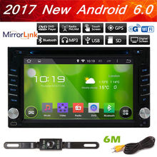 Android 6.0 6.2″ Car Stereo Radio Double 2DIN 4G WIFI GPS DVD Player Navigation Touch Screen Car Stereo Navigator Vehicle+CAMERA