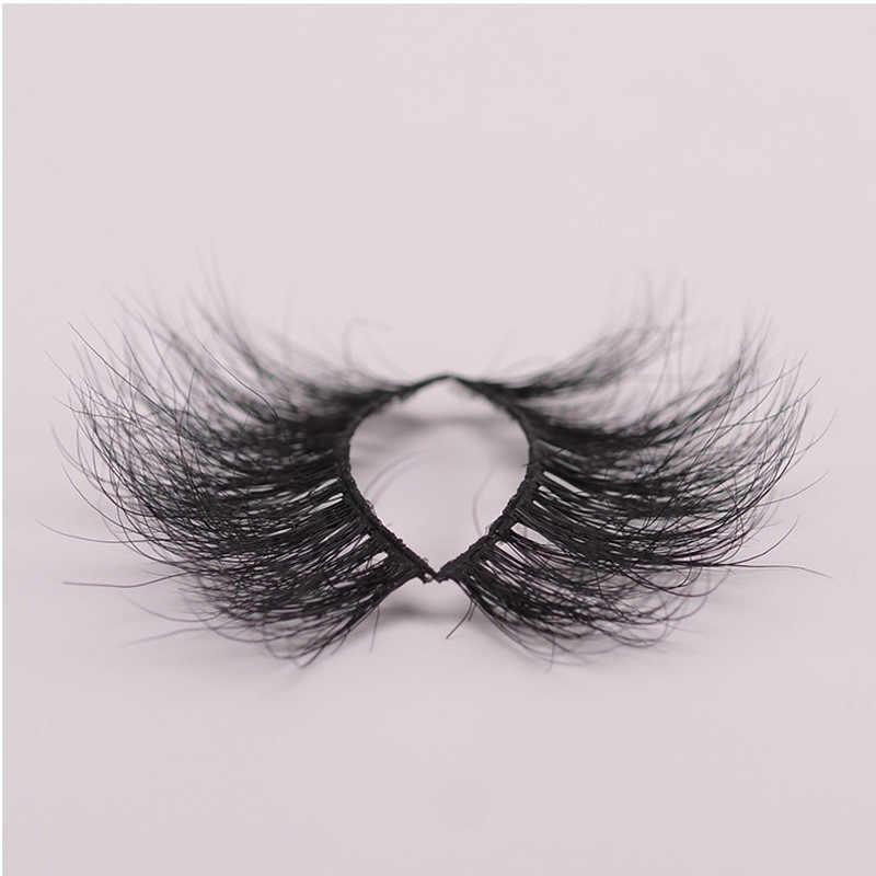 bb5f54fe120 ... 25mm long 3D mink lashes extra length mink eyelashes Big dramatic  eyelashes 100% Cruelty free ...