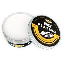 Car Polishing Paste Wax Scratch Repair Agent Paint Car Crystal Hard Wax Paint Care Waterproof Coating Wax With 2PCS Free Sponge