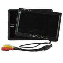SHRXY мини дверь Глаз Отверстие глазок видео 7 дюймов ЖК дисплей TFT HD цифровой BNC cctv камера мониторы