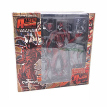 Marvel Red Venom Carnage in The Amazing Spiderman BJD Joints Movable Action Figure