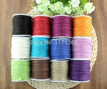 Hemp Jute Rope Colored Twine Cord For DIY Decorative Handmade Accessory Papercrafting, Frame Wall