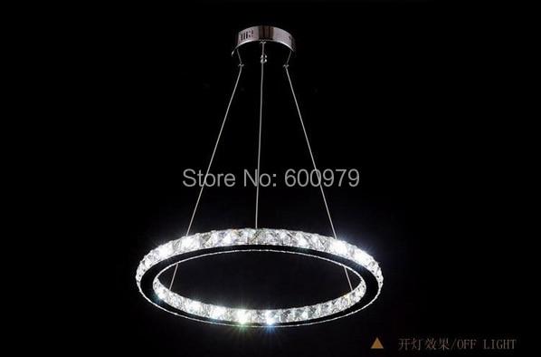 New Arrival LED Crystal Chandelier Light, Diamond Crystal Pendant Lamp Fast Shipping Raimond Ring Lamp
