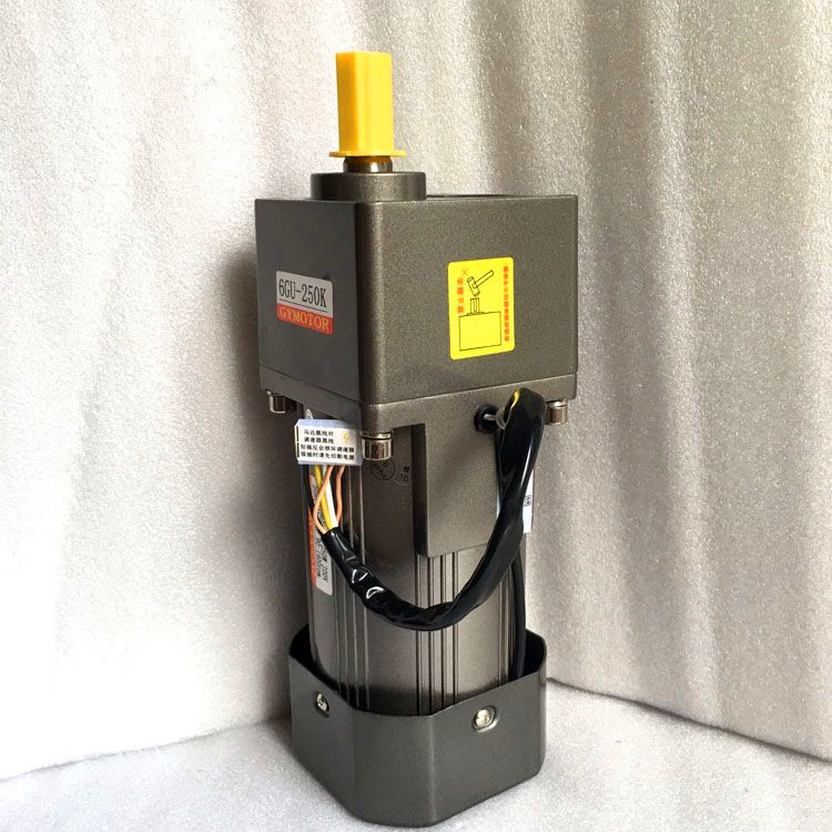 цена на AC 220V 200W 6GU Single phase regulated speed motor with gearbox. AC 220V gear motor,