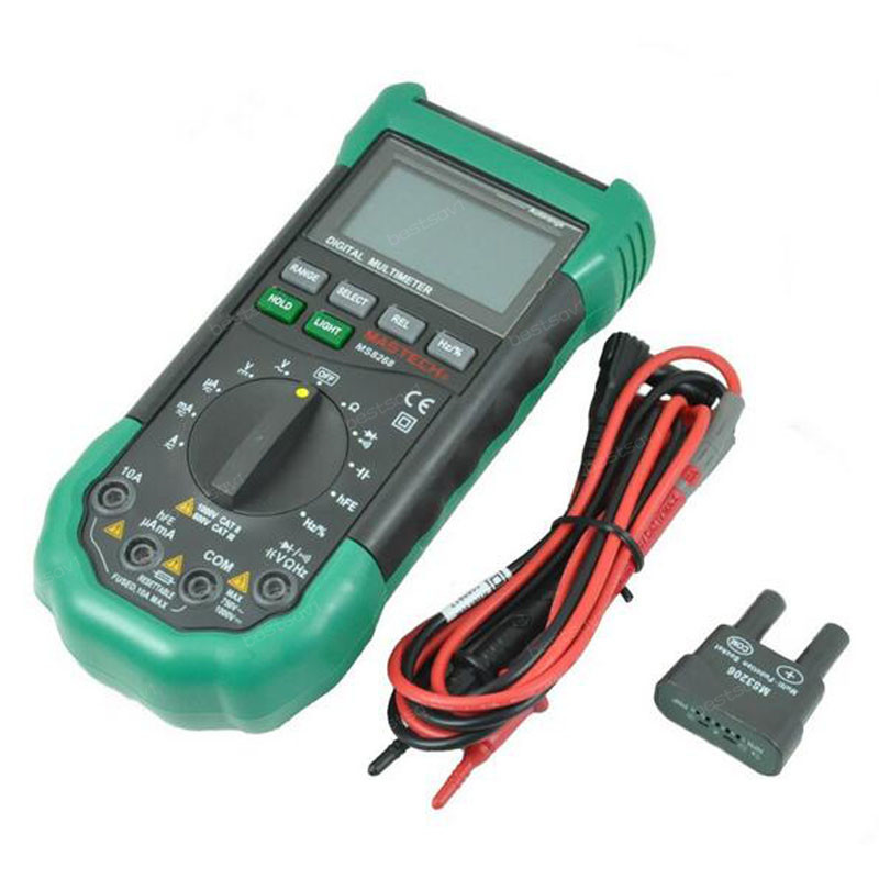 Electrical Frequency Tester : מוצר mastech ms auto range digital multimeter full