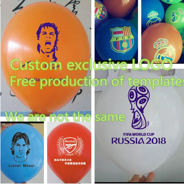 Personalized Balloons Custom Printing Photo Logo Name Birthday Party Advertising