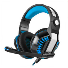 Nice GM-2 3.5mm Game Gaming Headphone Headset Headband with Microphone LED Light for Xbox One Laptop Tablet Mobile Phones PS