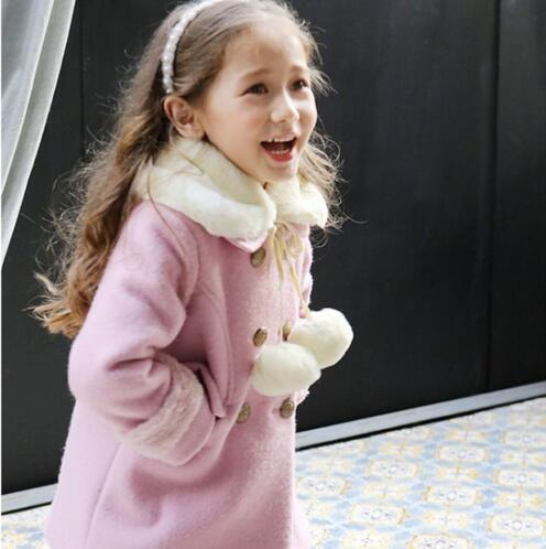 Mantas de Moda inverno Meninas Jaquetas Casacos Jaqueta Casaco Moletom Com Capuz Menina Crianças Roupas Crianças Com Capuz Trincheira Princesa Outerwear Outono
