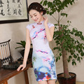 New Arrival Short Women Sexy Cheongsamdress Female Chinestraditional Dress Chinese Wedding Evening Party Dress 18