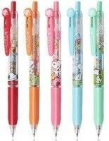 5pcs/set 0.5 mm Colorful Zebra snoopy JJ29SN limited Milk color Gel Pen JJ15 Sarasa for Student writing neutral pen Stationery