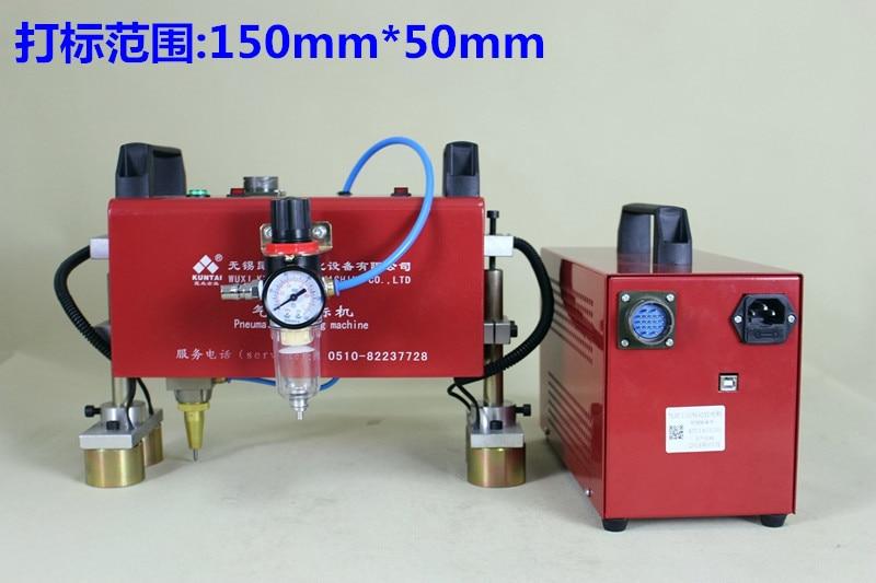 Pneumatikus jelölőgép hordozható adattábla kódoló gépjármű - Elektromos kéziszerszámok - Fénykép 3
