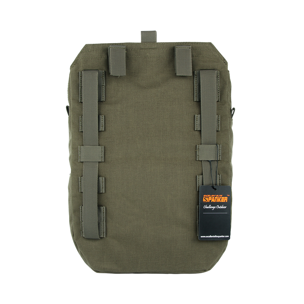 EXCELLENT ELITE SPANKER Tactical Outdoor Hunting Molle Vest Hydration Equipment Bag Nylon Military Camping Hiking Accessories