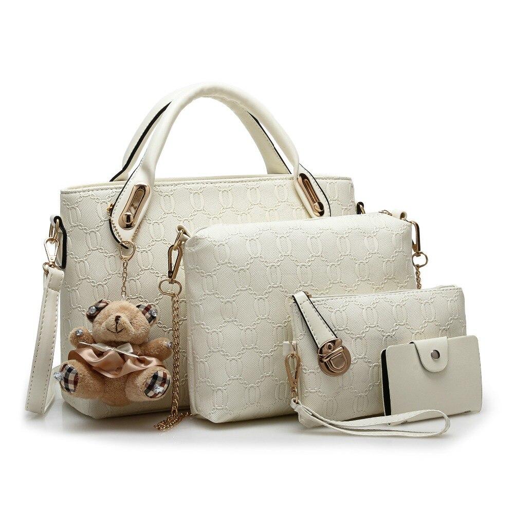ახალი მოდის Crocodile Handbags PU - ჩანთები - ფოტო 2