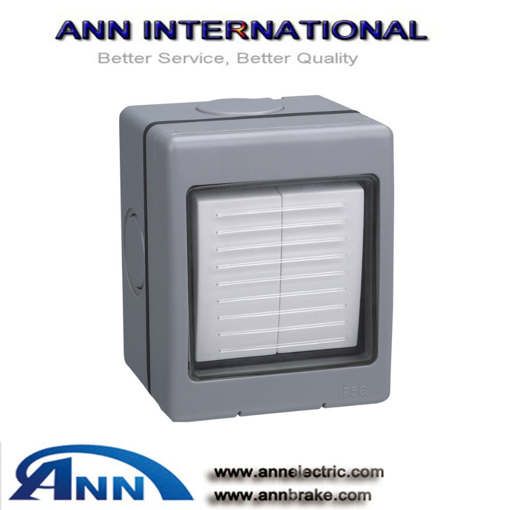 AT220(2 way ) weather protected switches,2Gang 2way switch, IP 56-in ...