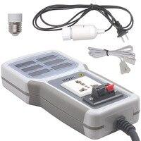 Handheld Power Meter Power Analyzer LED Metering Socket Measurable Current voltage Power Factor HP 9800 EU Plug