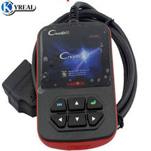 Original Launch Creader VI OBDII Code Scanner Creader 6 Fault Code Reader OBD 2 Diagnostic- Tool Online Update Free Shipping(China)
