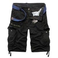2016 Plus Size 30 40 Men Short Shorts Mens Outdoor Shorts Army Green Black Blue Color