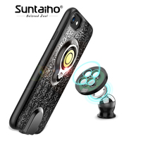 Suntaiho Wireless Car Charger Magnetic Phone Case Charger For IPhone 6s Plus Fast Charging Wireless Magnetic