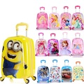 18 PULGADAS 18 # trolley Niño 18 frozen niños del arco universal de ruedas maleta pequeña gente amarilla chasis de aterrizaje # EC ENVÍO GRATIS