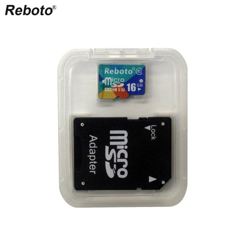 Newest Reboto Memory Card Micro SD Card 4GB 8GB 16GB 32GB 64GB class10 Microsd TF card Pen drive Flash Adapter Reader 8gb micro sd tf flash memory card