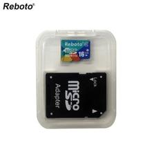 Newest Reboto Memory Card Micro SD Card 4GB 8GB 16GB 32GB 64GB class10 Microsd TF card Pen drive Flash Adapter Reader