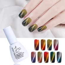 BORN PRETTY 10ml Thermal Magnetic 3D Cat Eye Gel Temperature Color Changing Soak Off UV LED Gel Varnish Polish Lacquer