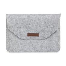 For Mackbook Messenger Wool Felt Laptop Sleeve for MacBook Air 11 A1465/ air 13 inch A1466 pro 13.3 15 A1278 retina 13 A1502