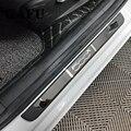 Автомобильный Стайлинг из нержавеющей стали Накладка на порог для FIAT 500X автомобильные аксессуары 4 шт