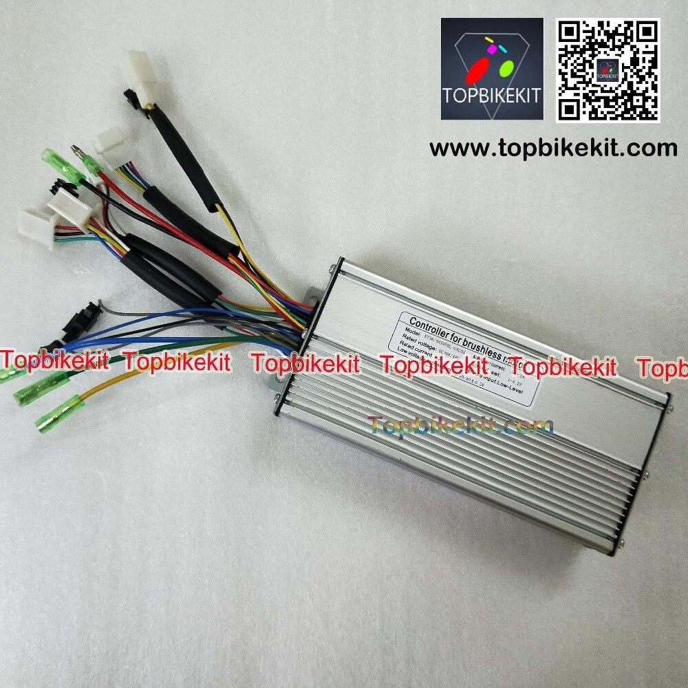 S12S-T12S 36V48V500W Torque Simulation Sine Wave Controller For ebike-36V-500W-48V-500W-Hub-motor (5)