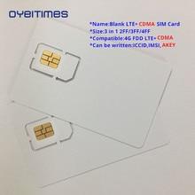 OYEITIMES Blank LTE+CDMA SIM Cards 4G FDD LTE+CDMA SIM Card Programable LTE+CDMA SIM Card Mini,Micro and Nano Blank SIM Card number field sieve and cdma sequences