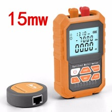 3in1 Optical Power Meter Visual Fault Locator Network Cable Test optical fiber tester, 15mw Visual Fault Locator