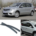 4pcs Blade Side Windows Deflectors Door Sun Visor Shield For Nissan Livina 2007-2013
