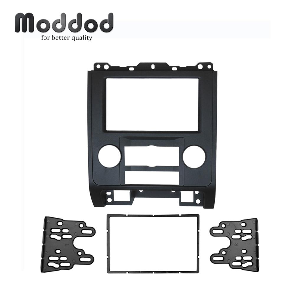 for Ford Escape Mazda Tribute Mercury Mariner Double Din Stereo Panel Fascia Radio Refit Dash Mount
