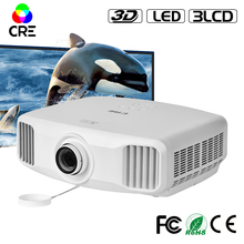 CRE X8000 home theater 1080P 3lcd projector for school 3D beamer portable business projector FULL HD 4K cinema Android wifi