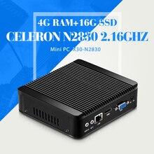 Компьютер Mini PC N2830 N2930 J1800 J1900 Новейший Мини-Компьютер Ноутбук Поддержка выиграть 7 XP систему