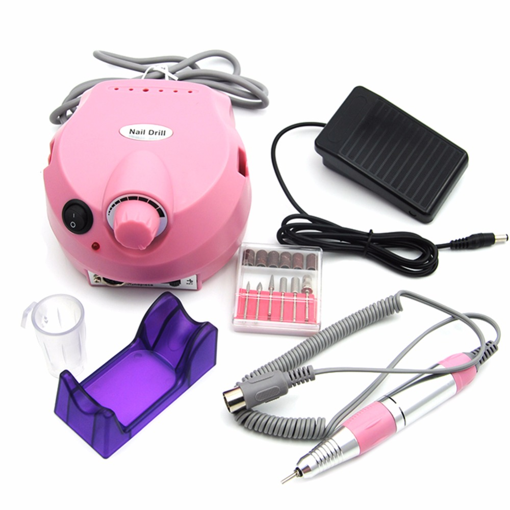 Nail Drill Machine Electric 30000 Revolutions Apparatus for Manicure Pedicure kit Nail Drill File Bit Nail Tools Art Accessory apparatus for manicure nail art drill machine for manicure kit drill file bit sanding accessory 9 heads pedicure machine