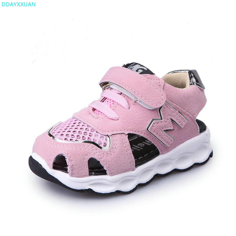 New 2018 Brand hot sales light breathable children casual shoes cool fashion girls boys shoes Spring/Summer baby kids sneakers
