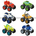 6pec/lot Russia miracle cars Blaze Toys Vehicle Car Transformation Toys With Original Box Best Gifts christmas