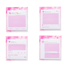 цена Pink Sticky Notes Self-Adhesive Memo Pad N Times Paper Sticker Notepad About 30 Sheets Stationery Office School Supplies Gift онлайн в 2017 году