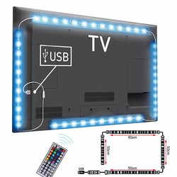 DC5V USB Cable LED strip light lamp SMD 5050 TV Background Lighting Kit Desktop Background Lamp for TV Computer Display Screen